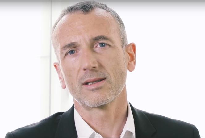 Emmanuel Faber, directeur général du groupe Danone.
