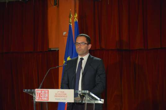 Benoît Hamon le 7 mai 2017.