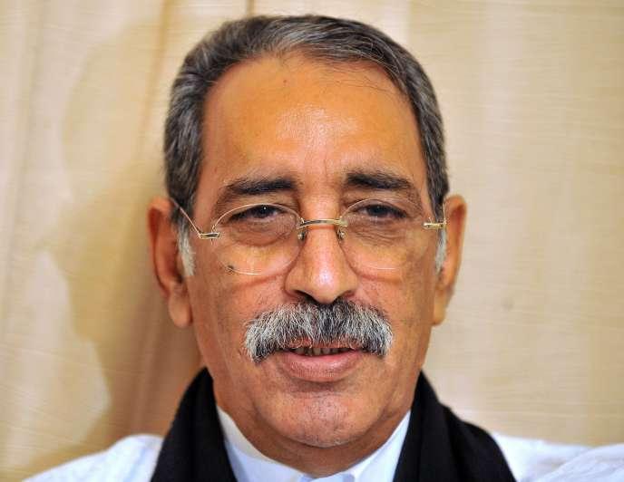 Ely Ould Mohamed Vall, ancien président de la Mauritanie, le 6 juin 2009.