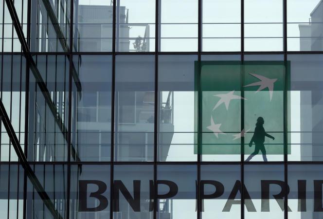 BNP Paribas à Issy-les-Moulineaux,Hauts-de-Seine.
