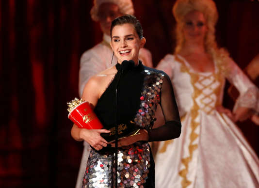 Emma Watson, le 7 mai, au Shrine Auditorium de Los Angeles.