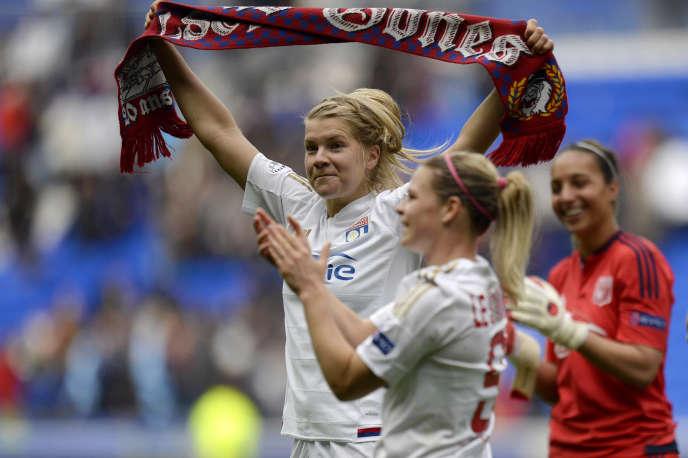 Ada Hegerberg représente l'avenir de l'Olympique lyonnais : en trois saisons à Lyon, elle a déjà inscrit 113 buts.