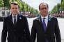 «Sur le financement de la protection sociale et la fiscalité, M.Macron est terriblement conservateur. Il mise tout sur l'augmentation de la CSG, alors que l'urgence est la mise en place du prélèvement à la source pour l'impôt sur le revenu» (Emmanuel Macron, lors des commémorations du 8 Mai 1945 à l'Arc de triomphe).