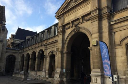 Le Centre national des Arts et Métiers ( CNAM), à Paris.