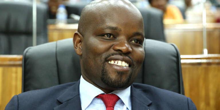 Jean Philbert Nsengimana, ministre de la jeunesse et des nouvelles technologies du Rwanda.