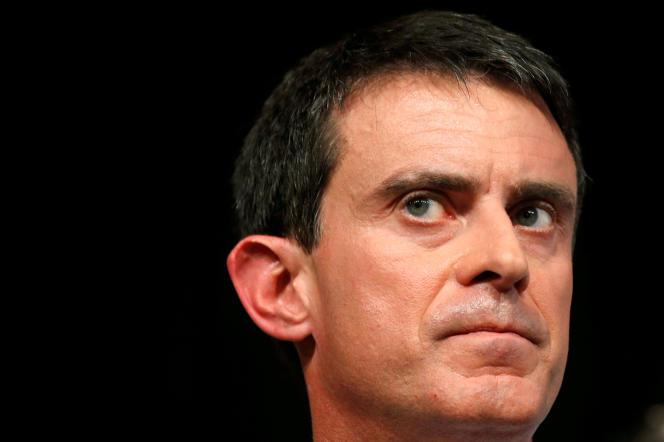 Manuel Valls le 8 janvier à Liévin (Nord).
