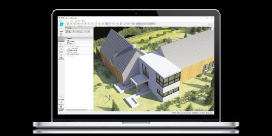 Cartographie 3D réalisée à partir des relevés opérés par un drone.