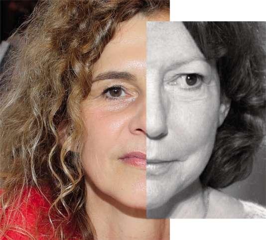 Delphine de Vigan et Anne Wiazemsky.