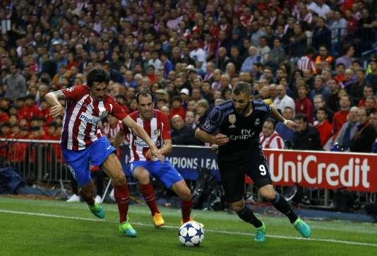 Une action d'éclat de Karim Benzema a permis au Real de se sortir du piège de l'Atletico.