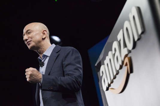Jeff Bezos, le fondateur et dirigeant d'Amazon, à Seattle, le 18 juin 2014.