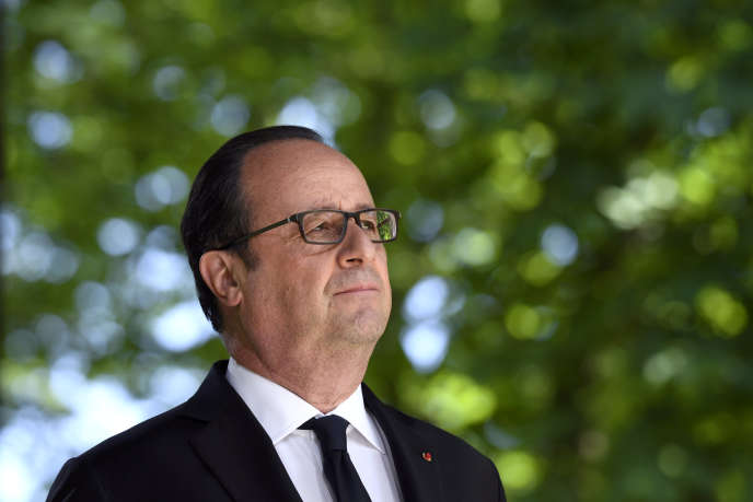 François Hollande, en mai 2017.