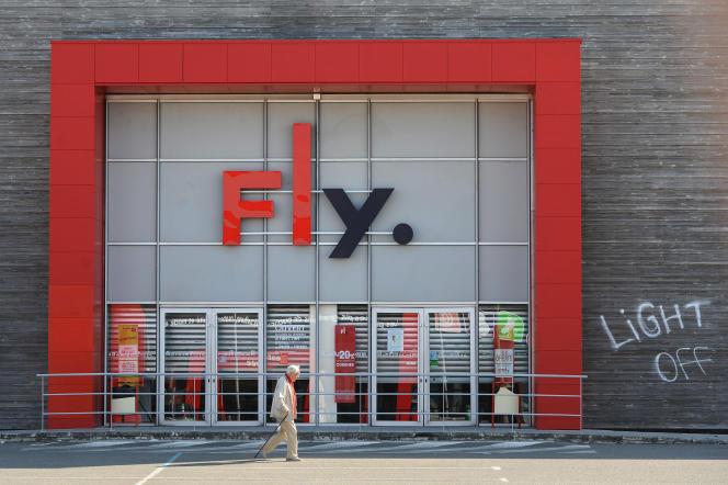 Un magasin Fly, à Nantes.