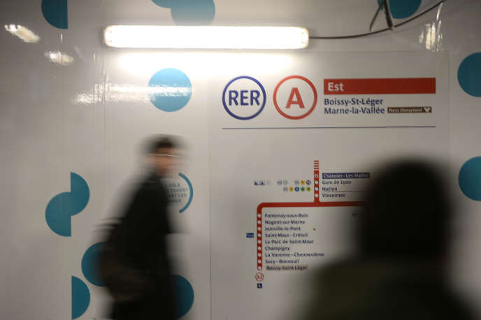 Le trafic était interrompu depuis le 30 octobre sur la ligne A du RER.