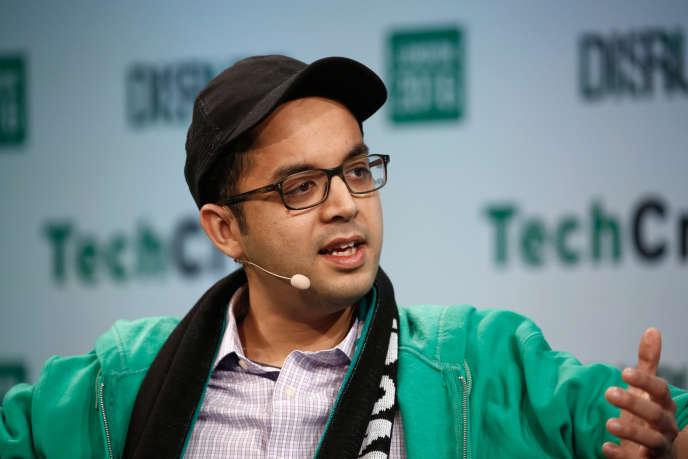 Le fondateur de Citymapper, Azmat Yusuf, le 6 décembre 2016, à Londres.
