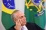 Le président brésilien, Michel Temer, à Brasilia, le 10 mai 2017.