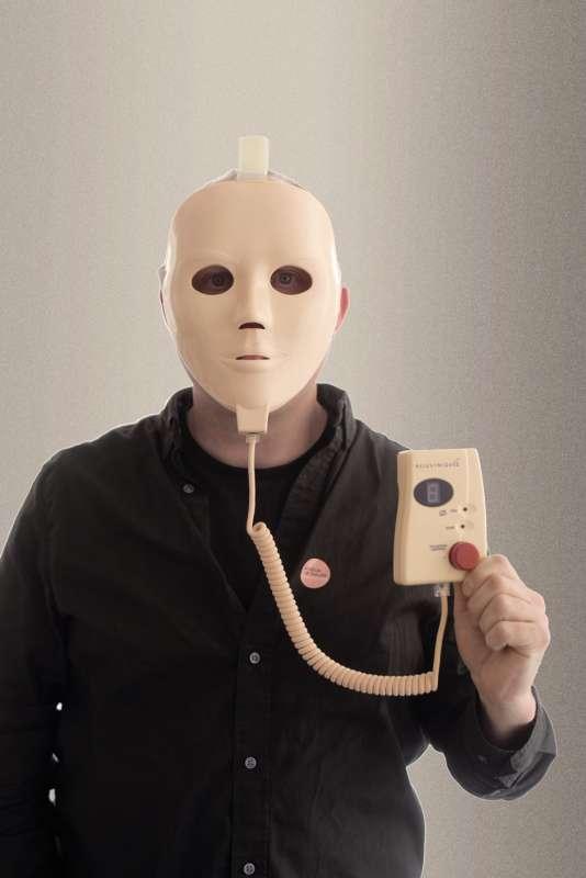 Parmi les objets exposés au musée d'Helsingborg, le masque anti-âge Rejuvenique…