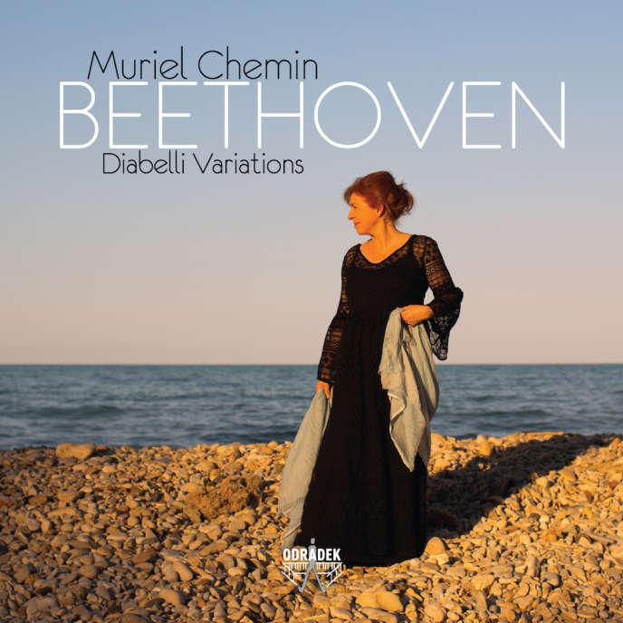 Pochette de l'album consacré aux Variations Diabelli de Beethoven par Muriel Chemin.