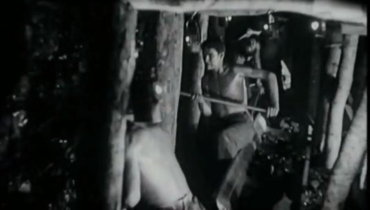 Image d'archive extraite de «La Bataille du charbon».