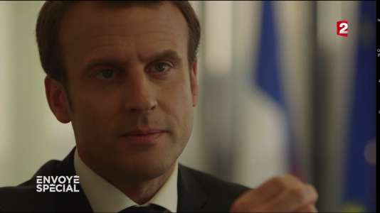 Emmanuel Macron détaille la mécanique implacable de sa campagne.