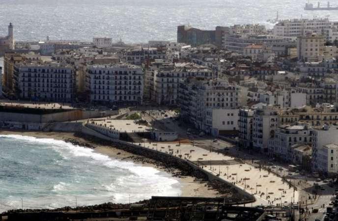 Vue du quartier populaire de Bab-el-Oued à Alger.