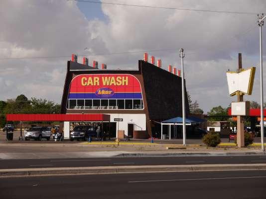 La station de lavage de voitures que Walter White achète pour blanchir son argent.