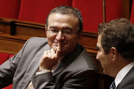 Hervé Mariton en novembre 2014 à l'Assemblée nationale.