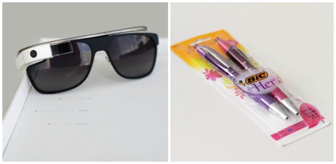 Ces trouvailles ont atterri au Musée de l'échec pour diverses raisons : technologie pas assez aboutie pour les Google Glass, retirées du marché en 2015 ; pouvoir de séduction limité pourles Bic « Her »…