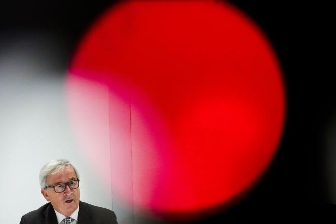Jean-Claude Juncker, président de la Commission européenne, le 8 mai, à Berlin.