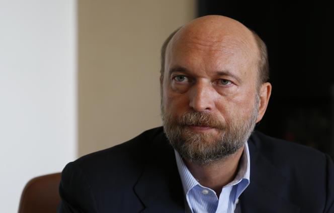 Sergueï Pougatchev, à Paris, en septembre 2015.