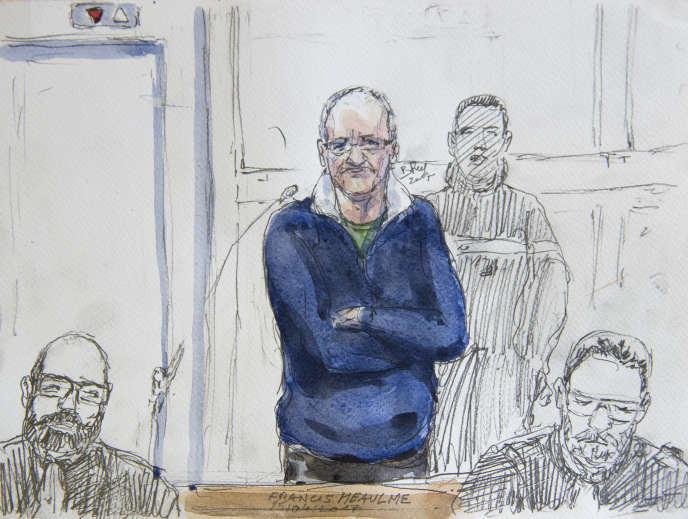 Francis Heaulme, 58 ans, a déjà été condamné pour neuf meurtres, dont deux fois à la perpétuité.