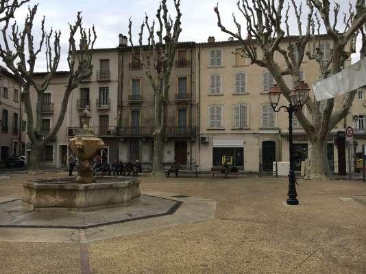 Laplace Pierre-de-Champeville à Carpentras, mercredi 10 mai, après l'annonce du retrait de la vie politique de Marion Maréchal-Le Pen.