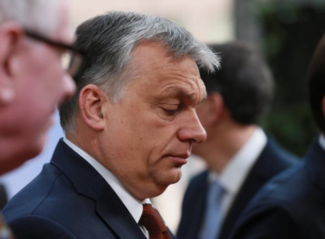 Le premier ministre hongrois, Viktor Orban, à Bruxelles le 29 avril.