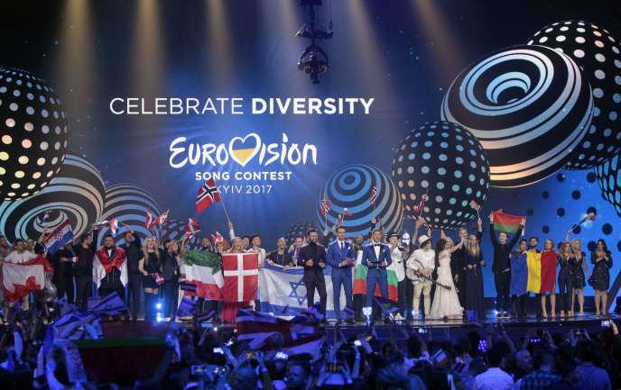 Demi-finale du concours de l'Eurovision à Kiev, le 11 mai.