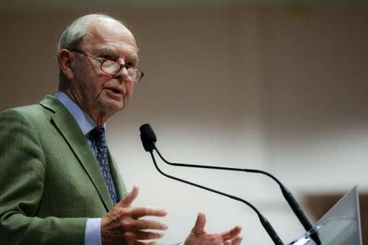 Antoine Rufenacht, ancien maire du Havre qui a cédé son poste à Edouard Philippe.