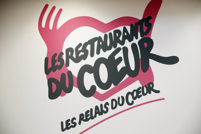 Un logo des restos du coeur (photo d'illustration).