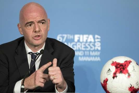 Le président de la FIFA, Gianni Infantino, a obtenu la mise en place d'un nouveau système d'attribution des Coupes du monde, «plus transparent».