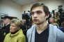 Rouslan Sokolovski, lors de son procès, àEkaterinbourg dans l'Oural, le 11 mai.