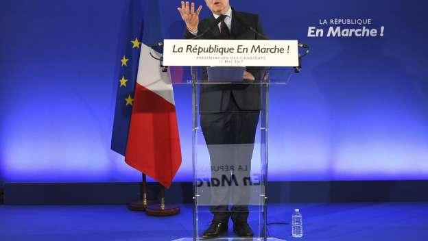 Richard Ferrand, secrétaire général de La République en marche (LRM), le 11 mai 2017, à Paris.