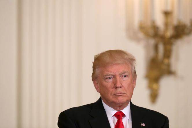 Donald Trump à la Maison Blanche, vendredi 12mai.