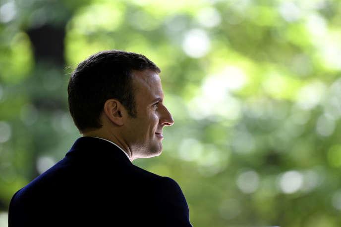 Emmanuel Macron à Paris, le 10 mai.