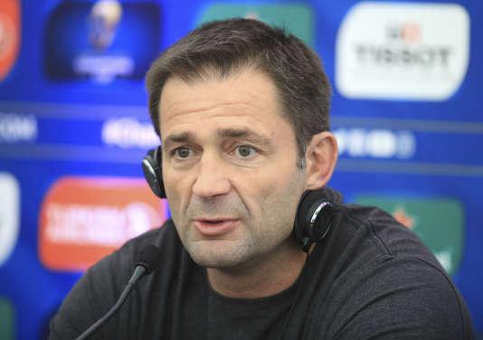 Franck Azéma, le 12 mai.