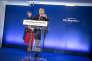 Richard Ferrand, secrétaire général du mouvement, lors de la présentation des candidats La République en marche !, à Paris, jeudi 11 mai.