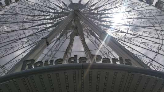 Marcel Campion est propriétaire de la grande roue de Paris depuis 1993.
