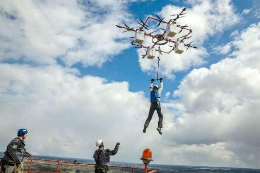 Le dronediving exige une certaine musculature des membres supérieurs et de ne pas avoir froid aux yeux