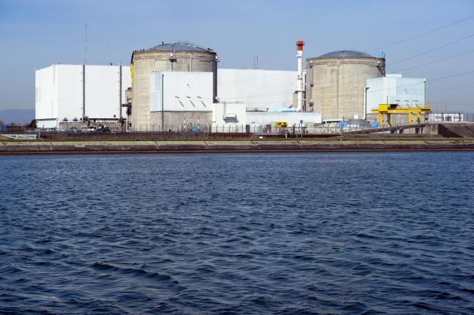 La centrale nucléaire de Fessenheim (Haut-Rhin), le18 mars 2014.