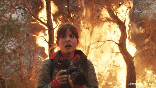 Flore Bonaventura dans« La Promesse du feu», de Christian Faure.