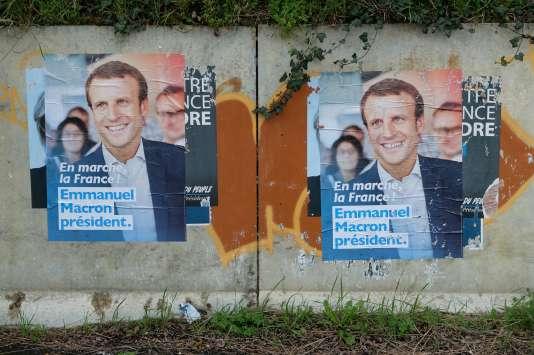 Poster d'En Marche! le 6 mars.