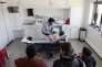 A la maison médicale d'Agneaux (Manche), où neuf médecins exercent, le 12 mai.