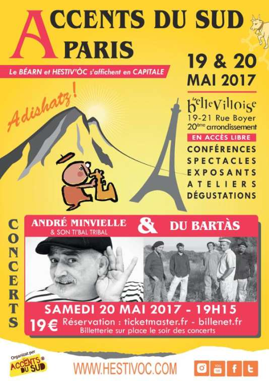 La première édition d'Accents du Sud à La Bellevilloise, à Paris, les 19 et 20 mai.