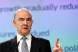 European Economic and Financial Affairs Commissioner Pierre Moscovici presents the EU executive's economic forecasts during a news conference at the EU Commission headquarters in Brussels, Belgium May 11, 2017. REUTERS/Francois Lenoir